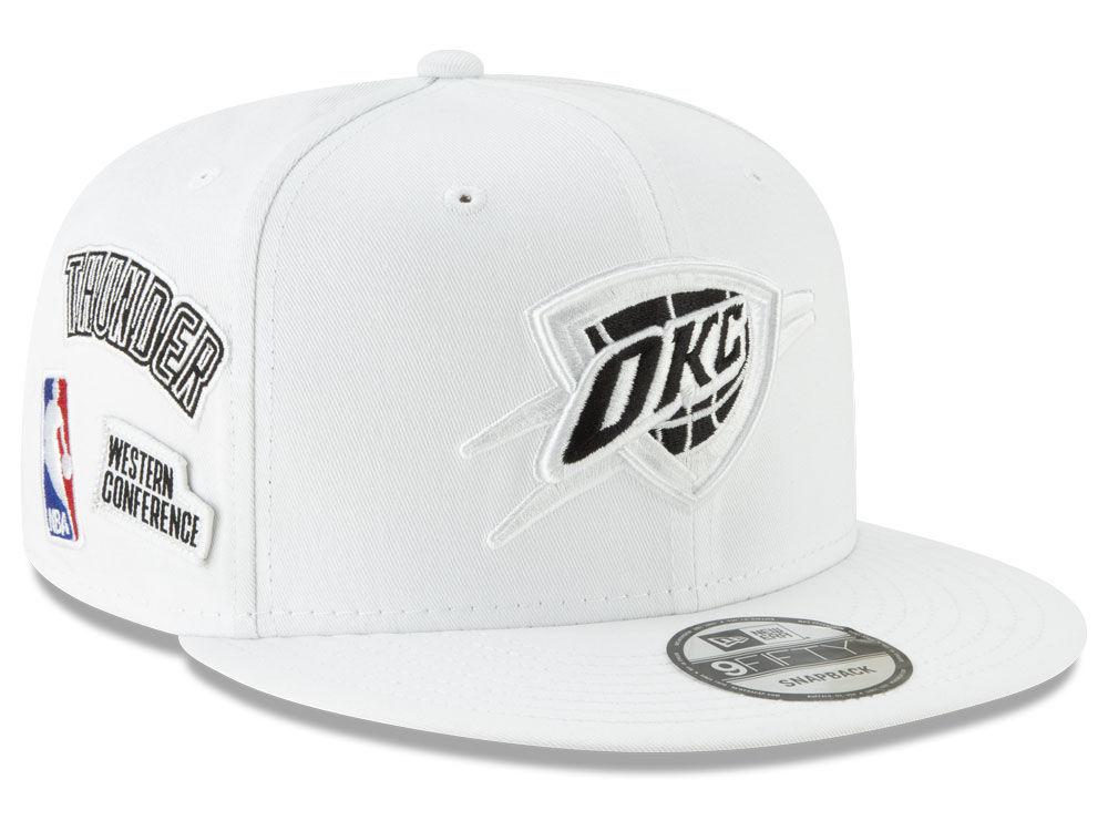 Oklahoma City Thunder New Era NBA Night Sky 9FIFTY Snapback Cap ... c0b26e8b367