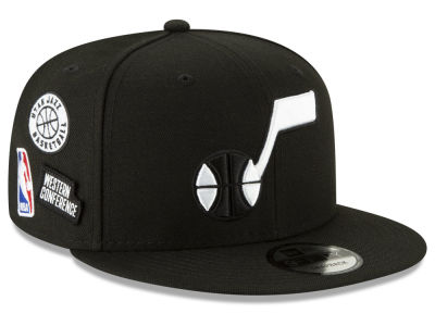 Utah Jazz New Era NBA Night Sky 9FIFTY Snapback Cap