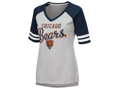 Chicago Bears G-III Sports NFL Women's Goal Line Raglan T-shirt