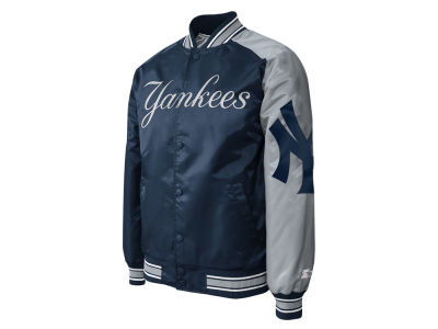 New York Yankees Starter MLB Men's Dugout Satin Jacket II