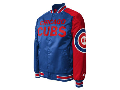 Chicago Cubs MLB Men's Dugout Starter Satin Jacket II