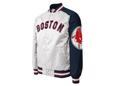 Boston Red Sox MLB Men's Dugout Starter Satin Jacket II