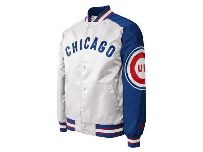 Chicago Cubs Starter MLB Men s Dugout Satin Jacket II 60403862f0