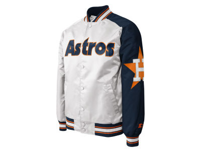 Houston Astros MLB Men's Dugout Starter Satin Jacket II