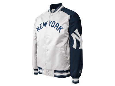 New York Yankees MLB Men's Dugout Starter Satin Jacket II