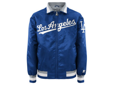 Los Angeles Dodgers MLB Men's Captain Coop Starter Satin Jacket