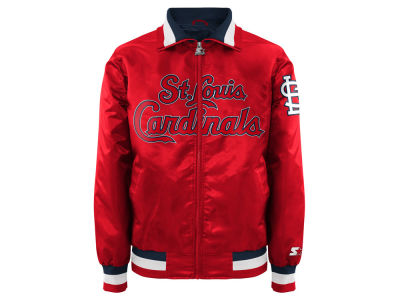 St. Louis Cardinals MLB Men's Captain Starter Satin Jacket II