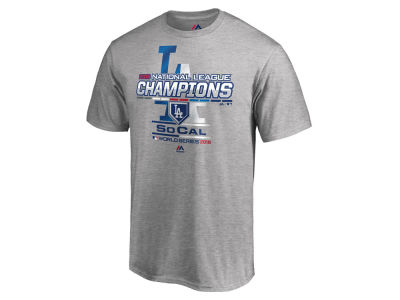 Los Angeles Dodgers 2018 MLB Men's League Champ T-Shirt