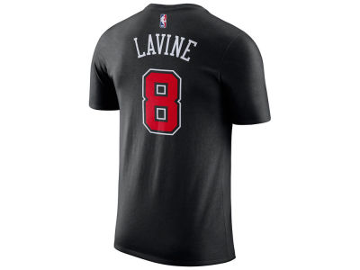 Chicago Bulls Zach LaVine Nike NBA Youth Statement Name and Number T-shirt