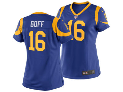 Los Angeles Rams Jared Goff Nike NFL Women's Game Jersey