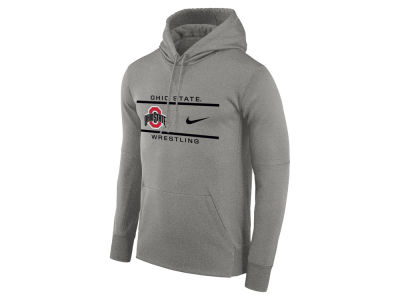 Ohio State Buckeyes Nike NCAA Men's Wrestling Therma Hooded Sweatshirt