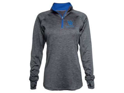 Kentucky Wildcats Top of the World NCAA Women's Spacedye Quarter Zip Pullover