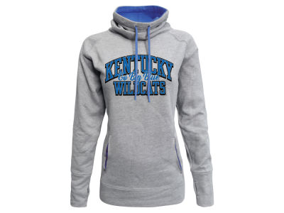 Kentucky Wildcats Top of the World NCAA Women's Fleece Funnel Neck Sweatshirt