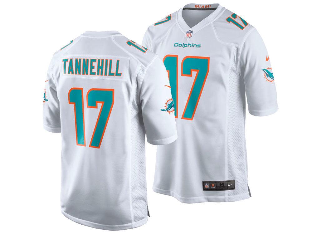 Miami Dolphins Ryan Tannehill Nike NFL Men s Game Jersey  4ba7626861b