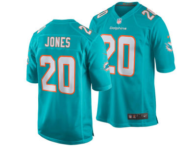Miami Dolphins Reshad Jones Nike NFL Men's Game Jersey