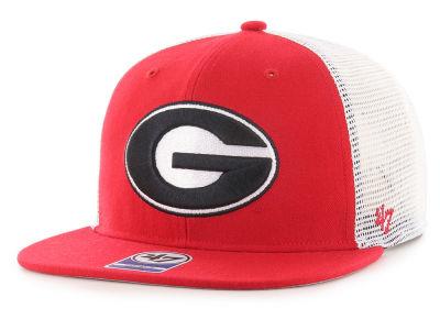 Georgia Bulldogs  47 NCAA Gambino Mesh Snapback Cap bc7721a0fcc