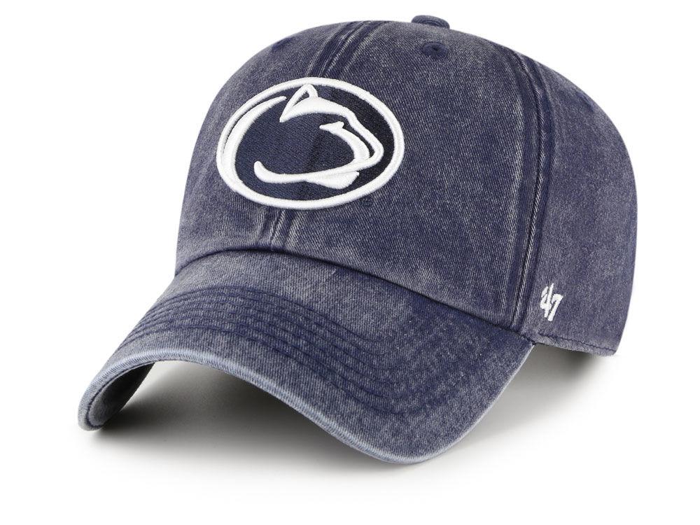Penn State Nittany Lions  47 NCAA Denim Drift Adjustable Cap  c018cf0ae2f2