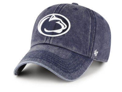 Penn State Nittany Lions  47 NCAA Denim Drift Adjustable Cap efffc23e0ba8