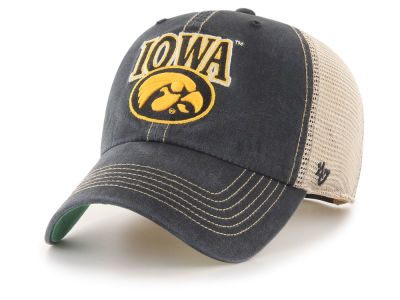 Iowa Hawkeyes  47 NCAA Tuscaloosa Mesh CLEAN UP Cap 044fdfb0bd73