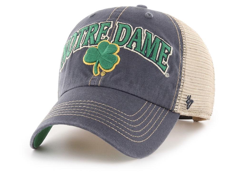 Notre Dame Fighting Irish  47 NCAA Tuscaloosa Mesh CLEAN UP Cap ... 8b4a9b62f51