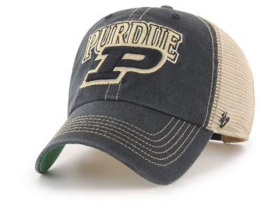 Purdue Boilermakers  47 NCAA Tuscaloosa Mesh CLEAN UP Cap 2b4fab8d36d