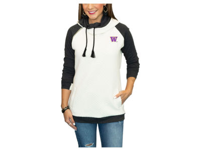 Washington Huskies Gameday Couture NCAA Women's Quilted Hooded Sweatshirt