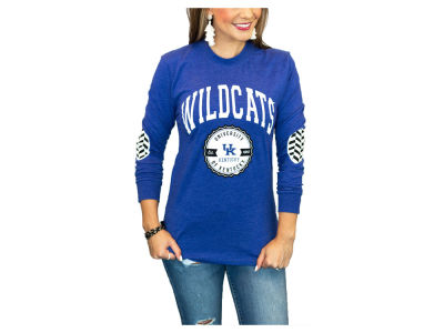 Kentucky Wildcats Gameday Couture NCAA Women's Elbow Patch Long Sleeve T-Shirt