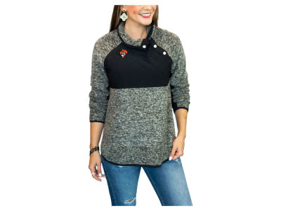 Oklahoma State Cowboys Gameday Couture NCAA Women's Quilted Snap Pullover