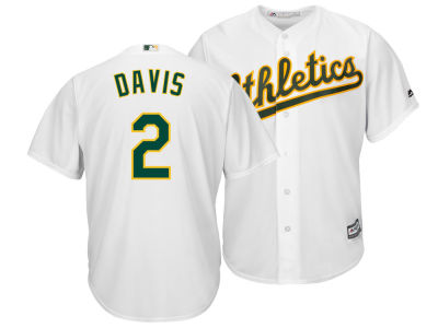 Oakland Athletics Khris Davis Majestic MLB Men's Player Replica Cool Base Jersey
