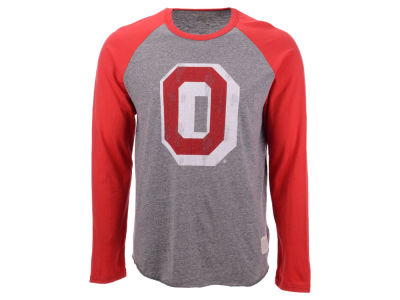 NCAA Men's Colorblock Raglan Long Sleeve T-Shirt