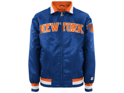 New York Knicks NBA Men's Starter Captain II Satin Jacket