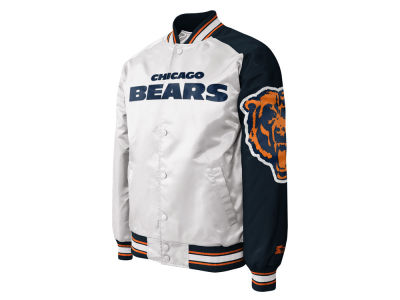 Chicago Bears NFL Men's Starter Dugout Championship Satin Jacket