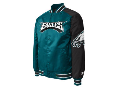 Philadelphia Eagles Starter NFL Men's Starter Dugout Playoff Satin Jacket