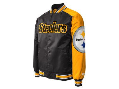 Pittsburgh Steelers Starter NFL Men s Starter Dugout Playoff Satin Jacket 922af0991