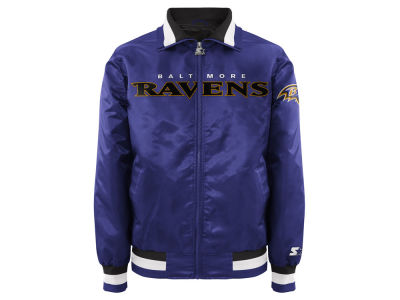 Baltimore Ravens NFL Men's Starter Captain II Satin Jacket