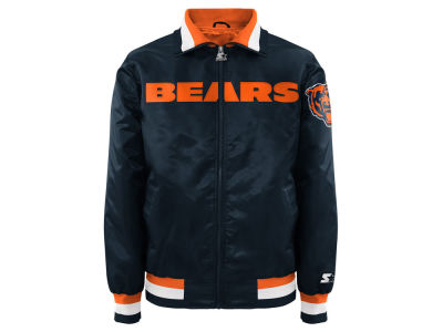 Chicago Bears NFL Men's Starter Captain II Satin Jacket