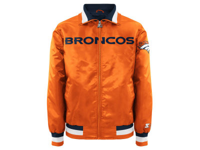 Denver Broncos Starter NFL Men's Starter Captain II Satin Jacket