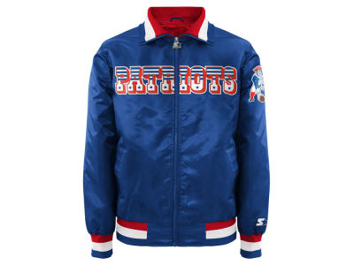 New England Patriots Starter NFL Men's Starter Captain II Satin Jacket