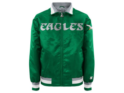 Philadelphia Eagles Starter NFL Men's Starter Captain II Satin Jacket