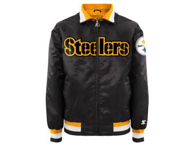 Pittsburgh Steelers Starter NFL Men s Captain II Satin Jacket b22680925