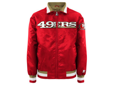 San Francisco 49ers Starter NFL Men's Starter Captain II Satin Jacket