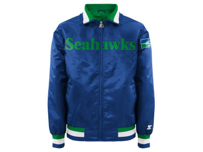 Seattle Seahawks Starter NFL Men's Starter Captain II Satin Jacket