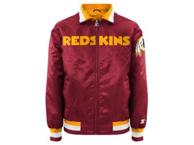 Washington Redskins Starter NFL Men's Starter Captain II Satin Jacket