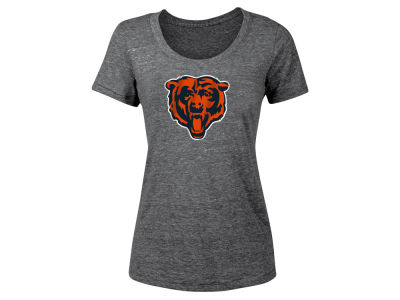 Chicago Bears 5th & Ocean NFL Women's Tri-blend Logo T-Shirt