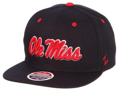 Ole Miss Rebels Zephyr NCAA Core Snapback Cap