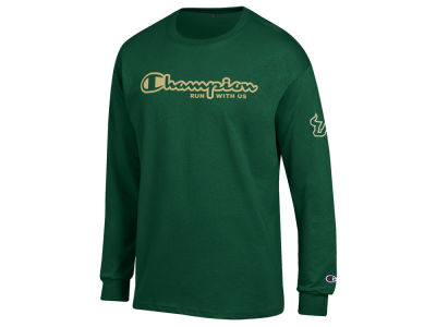 South Florida Bulls Champion NCAA Men's Co-Branded Long Sleeve T-Shirt