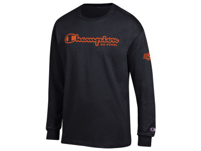 Oklahoma State Cowboys Champion NCAA Men's Co-Branded Long Sleeve T-Shirt