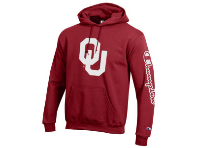 Oklahoma Sooners Champion NCAA Men's Co-Branded Hooded Sweatshirt