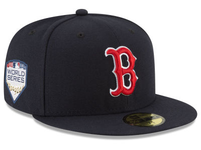 95798def6bf Boston Red Sox New Era 2018 MLB World Series Patch 59FIFTY Cap