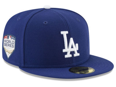 Los Angeles Dodgers New Era 2018 MLB World Series Patch 59FIFTY Cap